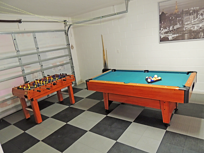 Oleander Villa, Lake Wilson Preserve, The Games Room