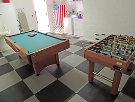 Oleander Villa, Games Room