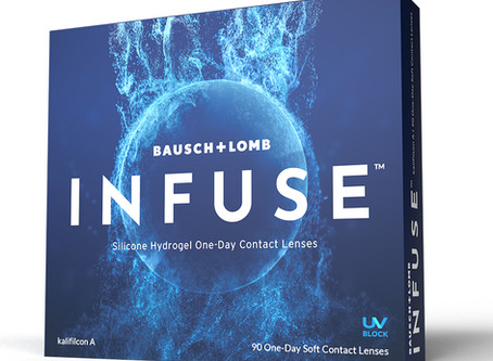 NEW Bausch + Lomb INFUSE Contact Lens - Now Available at Northlake Eye