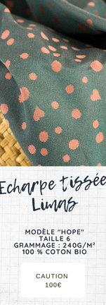 Echarpe tissée Limas baby Hope