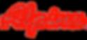 ALPINA SNOWMOBILES Logo trasparente merg