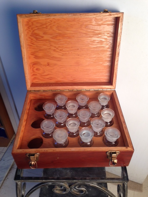 PHARMACEUTICAL APOTHECARY CASE