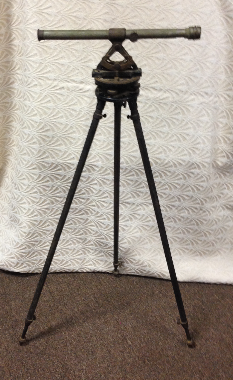 Antique Transit and Tripod