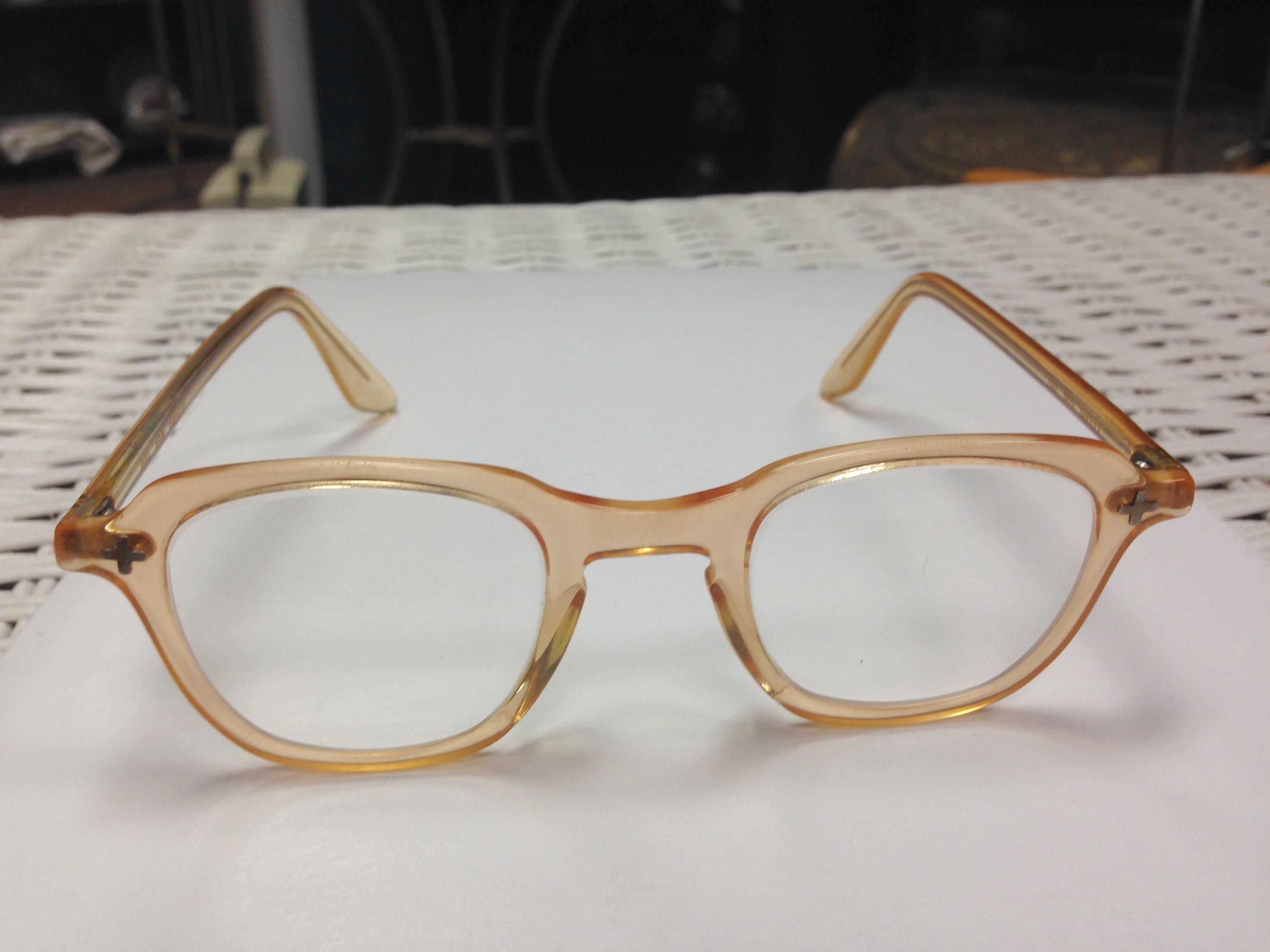 Rare Antique B&L Safety Glasses