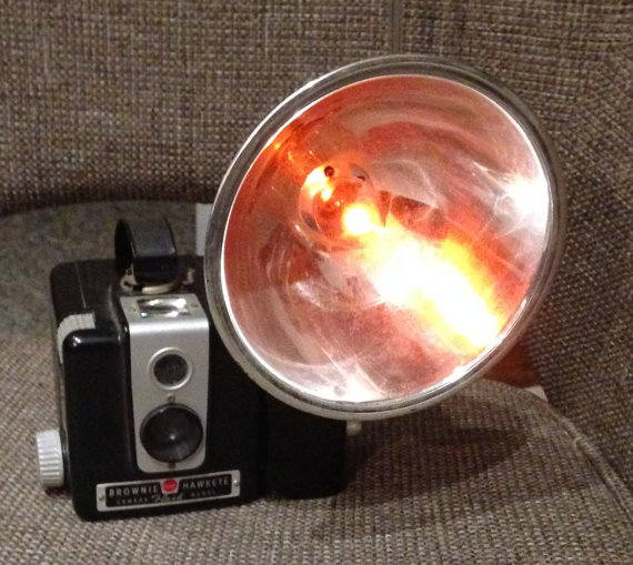 Vintage Brownie Camera Nightlight