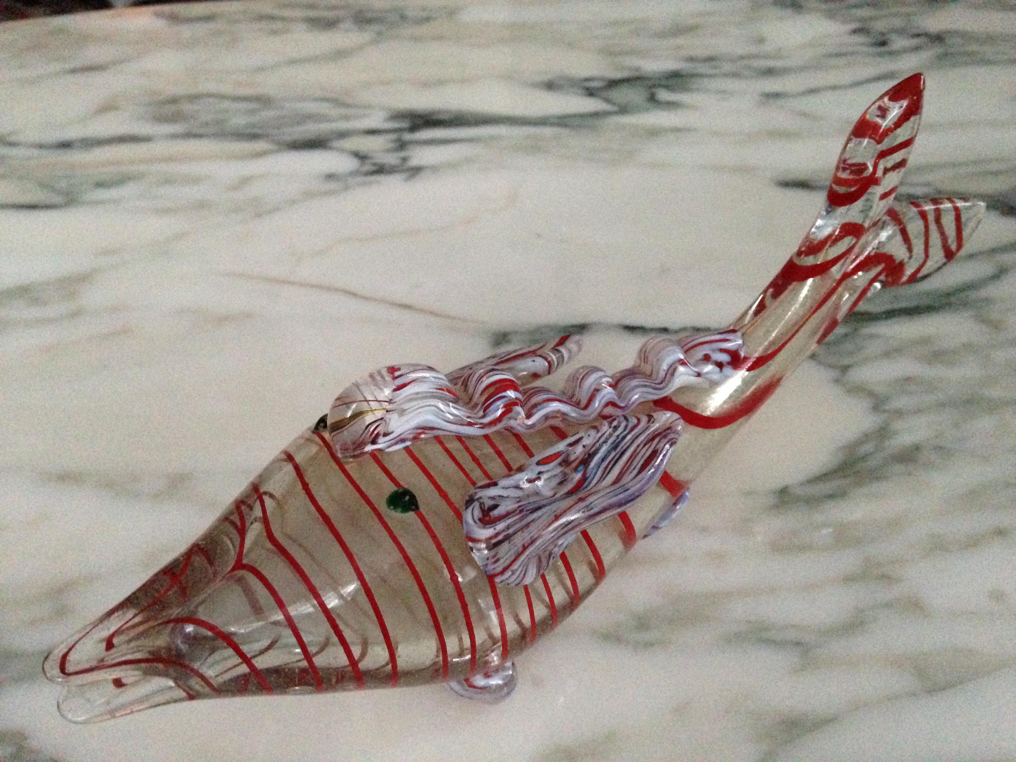 Venetian Blown Glass Fish