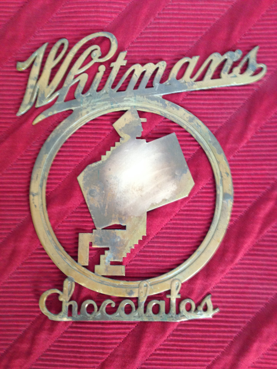 Rare, Vintage Whitman's Ad Sign