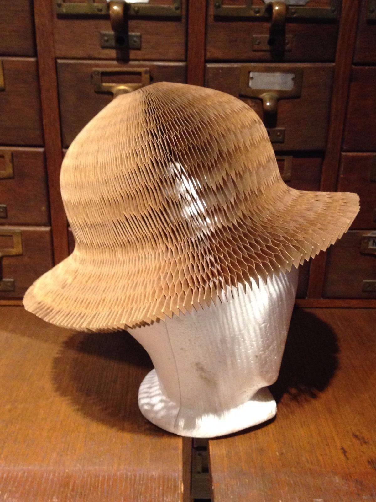 Rare Vintage Catwalk Cardboard Hat