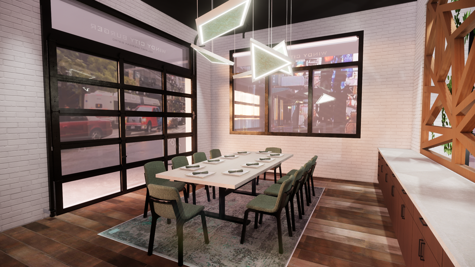 Windy City Burger - Private Dining