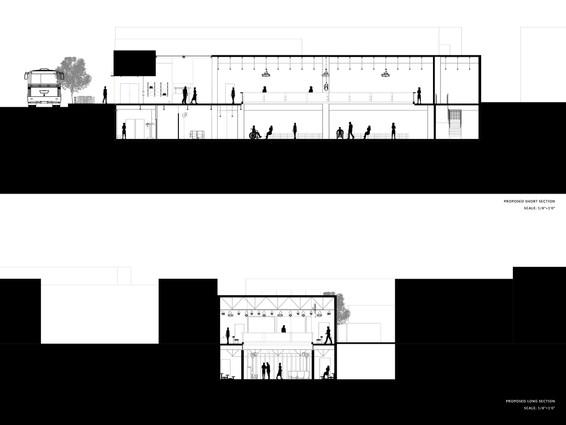 Burton Civic Theatre Sections