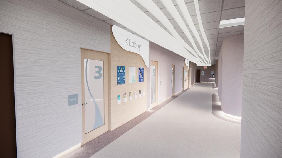 Haven Health - Hallway