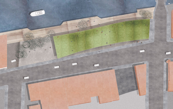 Manistee Public Library Site Plan