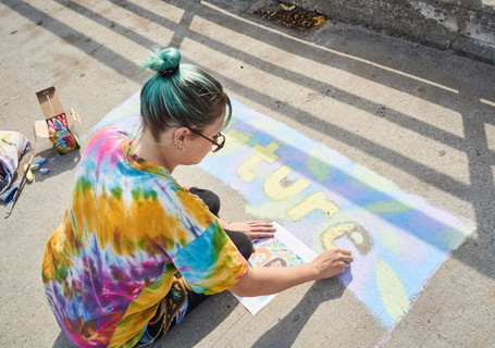 Chalk it up GR Event