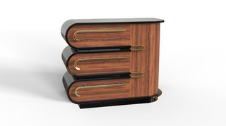 Deco Accesnt Cabinets