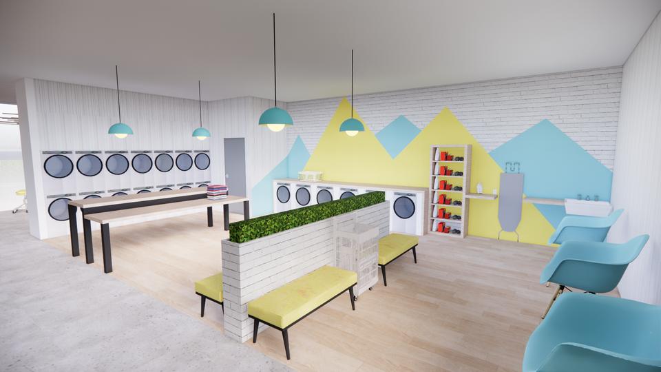 The Humble Hub - Laundry Room
