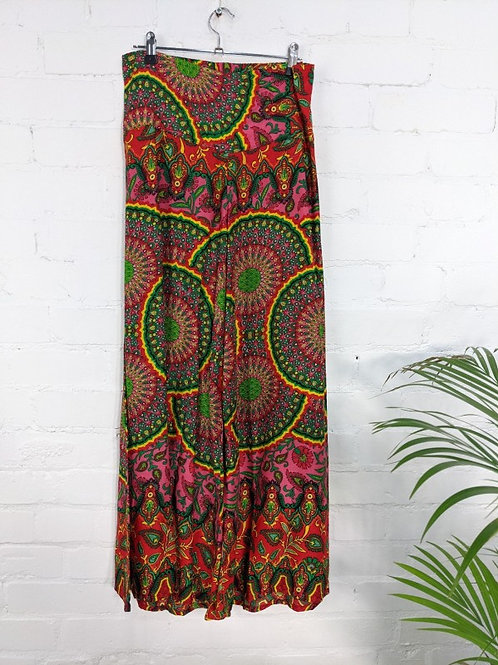 Assorted Paisley Wide Leg Trousers - 100% Viscose