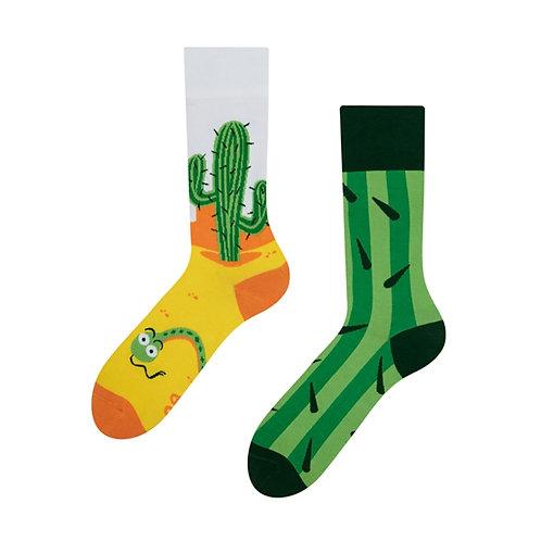 Cactus Good Mood Socks