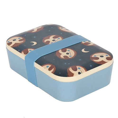 Sidney Sloth Bamboo Lunchbox