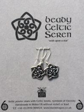 Beady Celtic Seren Earrings