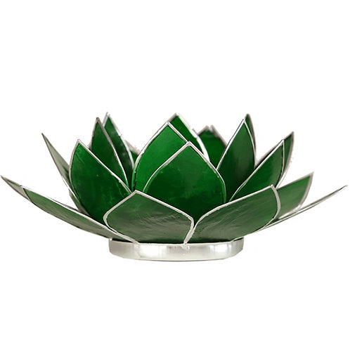 Green Lotus Tea-Light Holder