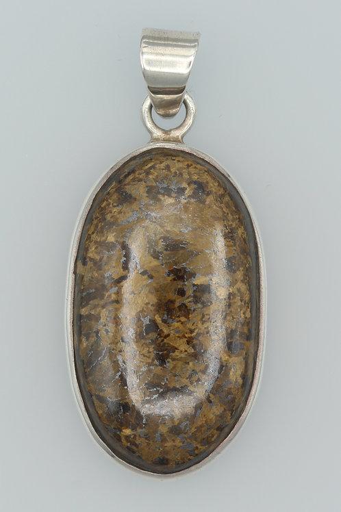 Bronzite Pendant