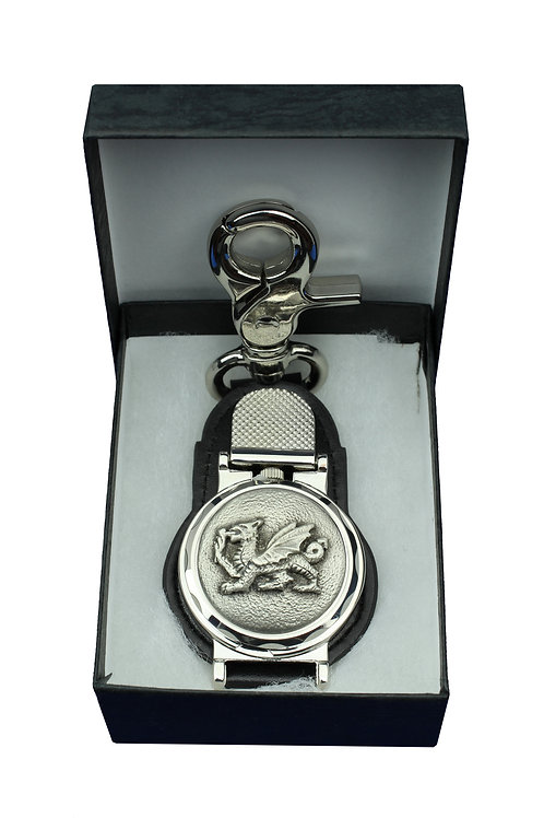 The Journeyman Welsh Dragon Clip-on Watch