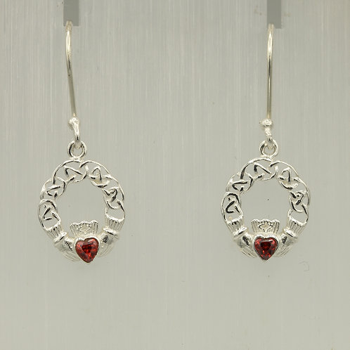Celtic Claddagh Earrings