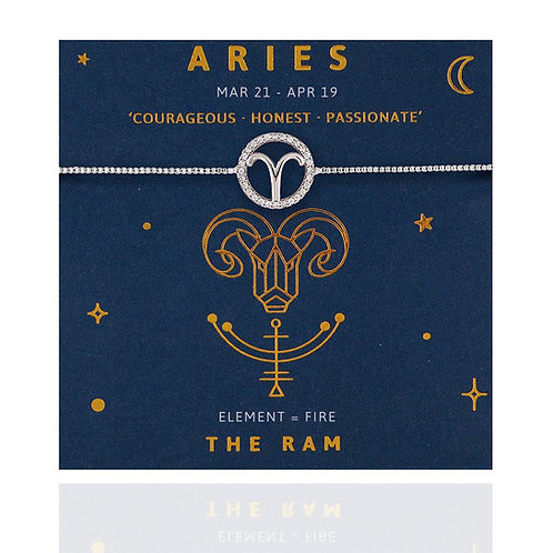 Aries Life Charm Bracelet