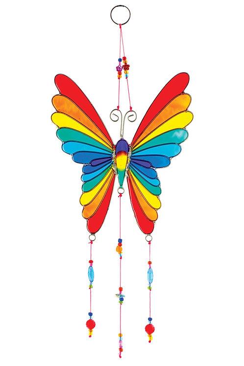 Rainbow Butterfly Suncatcher