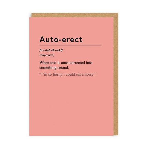 """""""Auto-Erect"""" Card"""