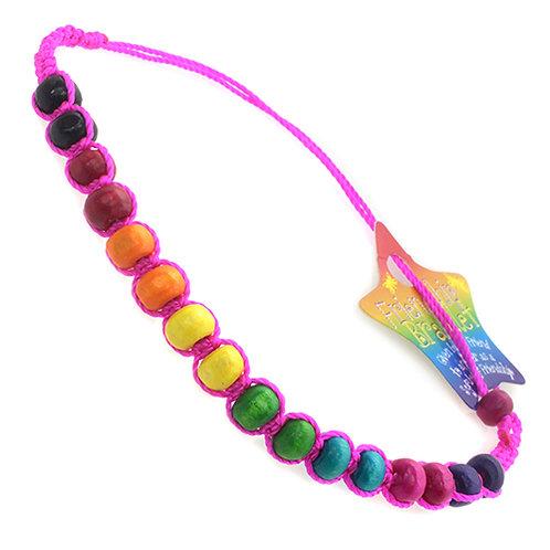 Friendship Bracelets with Big Beads