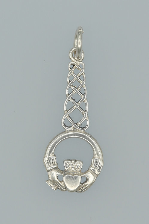 Celtic Claddagh Pendant