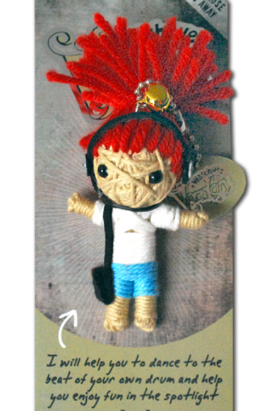 Rock n Roll Watchover Voodoo Doll
