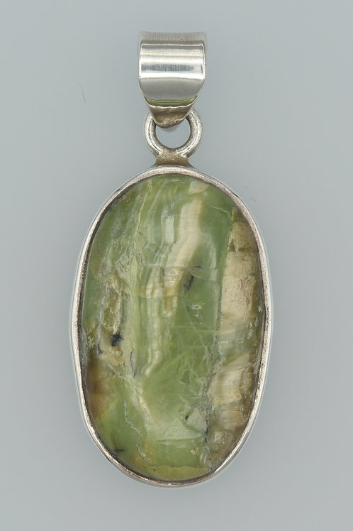 Green Imperial Opal Pendant