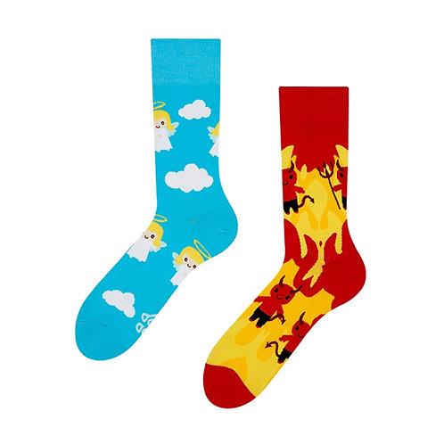 Angel & Devil Good Mood Socks