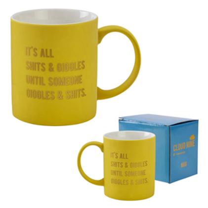It's All Shits and Giggles..Mug