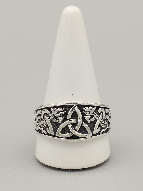 Celtic Dragons Ring
