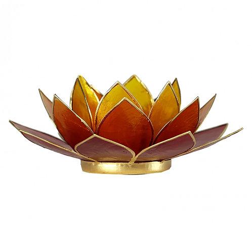 Flame Lotus Tea-Light Holder
