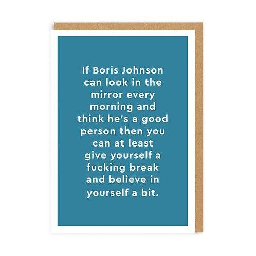 """Boris Johnson"" Card"