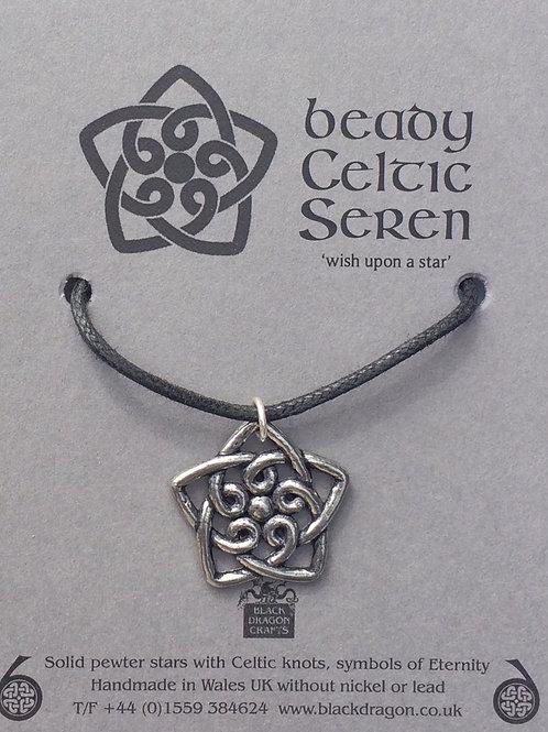 Beady Celtic Seren Pendant