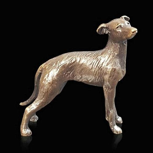 Lurcher Bronze Miniature