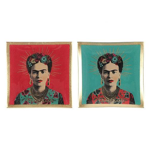 Frida Kahlo Glass Trinket Dish