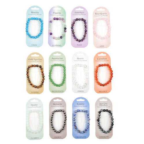 Crystal Energy Bracelets