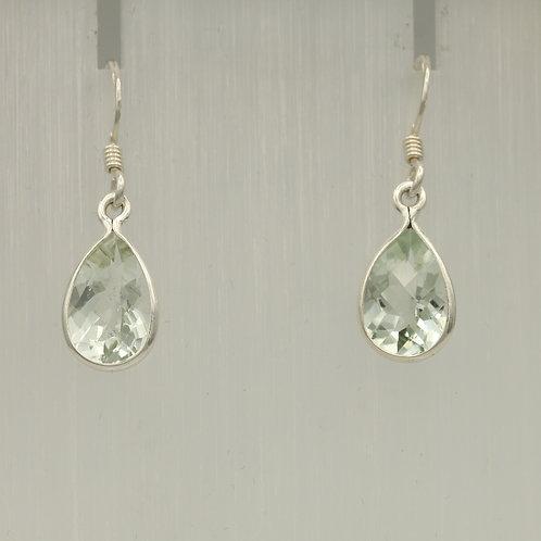 Green Amethyst (Prasiolite) Earrings