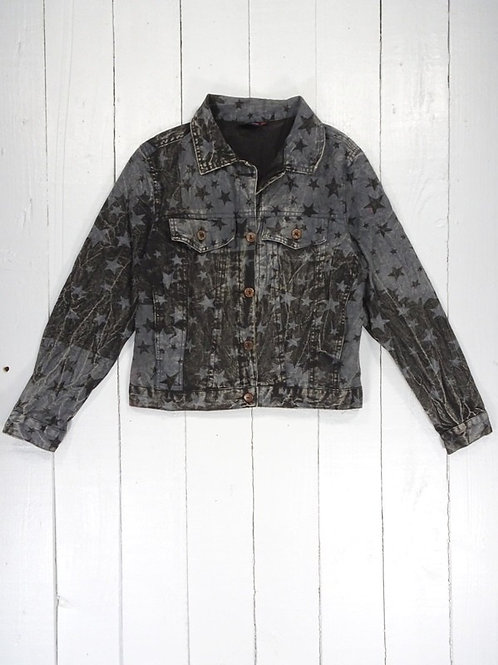 Short Button Jacket - 100% Cotton