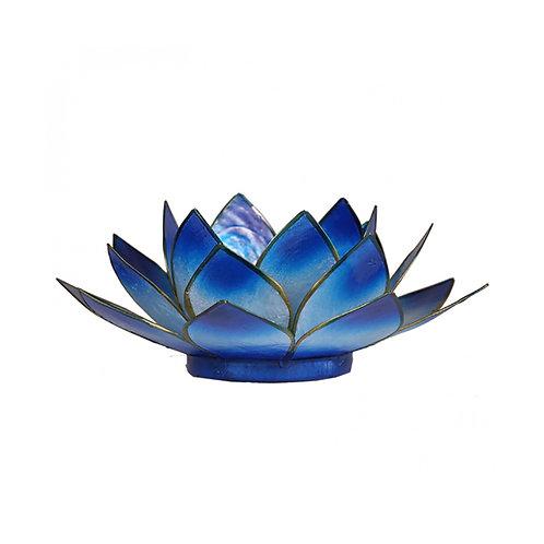 Blue Lotus Tea-Light Holder