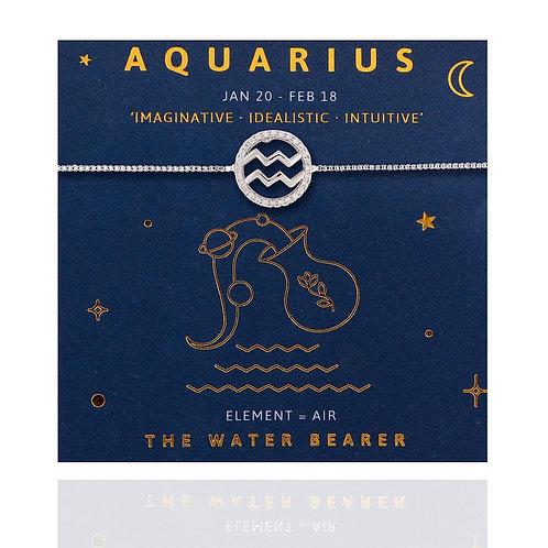 Aquarius Life Charm Bracelet