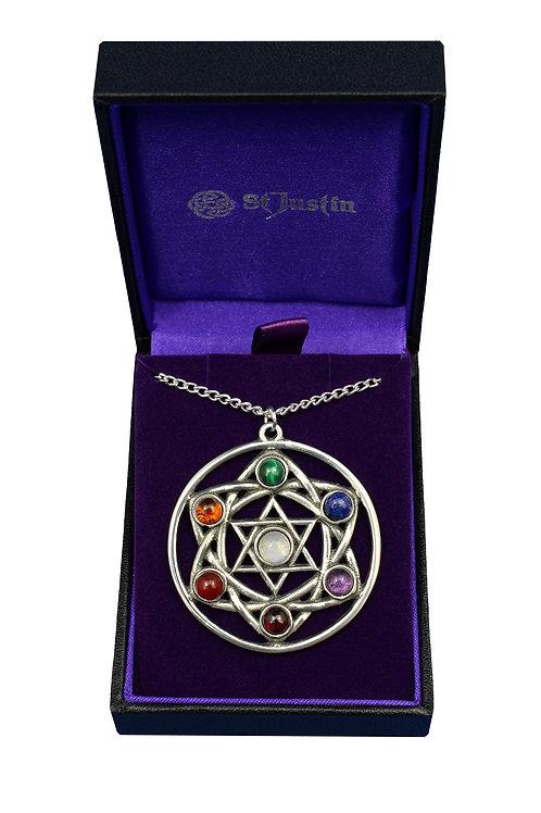 Chakra Star Pendant