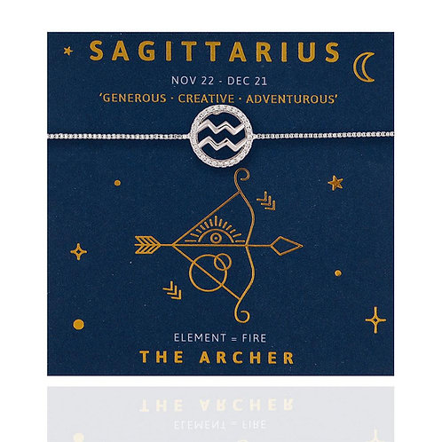 Sagittarius Life Charm Bracelet