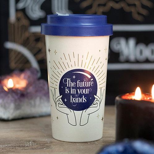 Fortune Teller Bamboo Travel Mug
